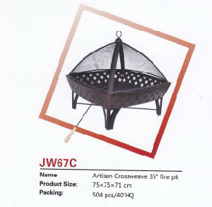"""Artisan Crossweave 35"""" Fire Pit pictures & photos"""