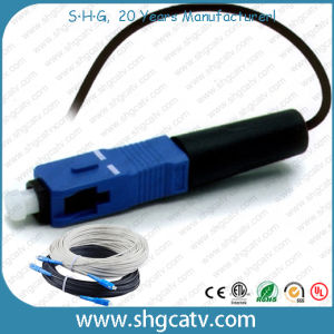 High Quality Sc/Upc Fast Fiber Optic Connector pictures & photos
