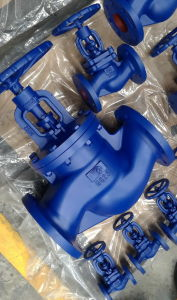 DIN GG25 pn16 cast iron globe valve pictures & photos