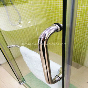 Australian Approval Tempered Glass Rectangle Frameless Shower Screens (H001E) pictures & photos