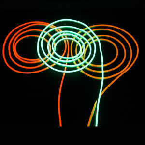 Ultra-Thin Amber LED Neon Flex Rope Light pictures & photos