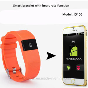 Bluetooth 4.0 Smart Bracelet with Heart Rate&Water Resistant (ID100) pictures & photos
