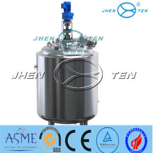 Jacketed Agitator Tank with Heating with Ss304 Ss316 pictures & photos