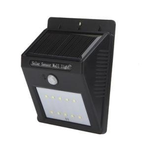 6 SMD LED PIR Motion Sensor Solar Lamp Energy Saving Garden Wall Light pictures & photos