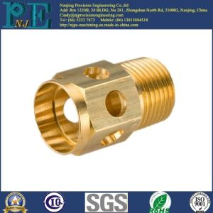Customized Brass Machining Pipe Fittings pictures & photos