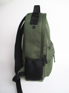 Boys Army Green Block Backpack pictures & photos