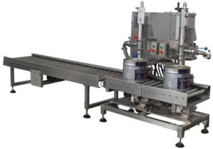 Auto Liquid Barreling Filling Packing Machine for Paint&Oil pictures & photos