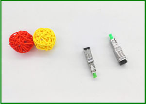 Simplex Duplex Male - Female Sc APC Fiber Optic Attenuator 10dB 20dB Single Mode pictures & photos
