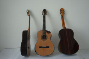 Aiersi Vintage Handcraftedtraditional Spanish Design Classical Guitar Sc02cjcn pictures & photos