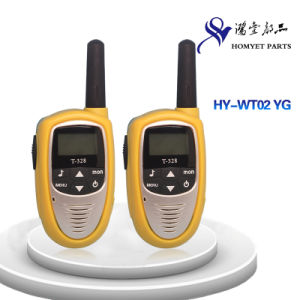 China Professional Manufacturer Mini Size Wireless Interphone/Walkie-Talkie (HY-WT02 YG) pictures & photos