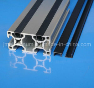 Slot 8mm PVC Material Flat Cover Profile Strips in The Profile Groove pictures & photos