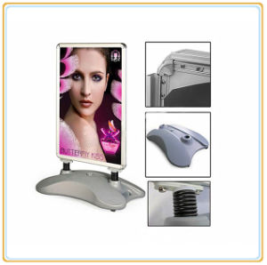 A1 Outdoor Advertising Poster Stand with Water Filled Base pictures & photos