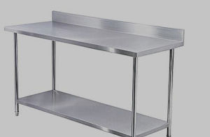 Stainless Steel Operation Desk Ss Detection Stand Ss304 316 Sorting Table