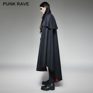 Y-709 Punk Rave Gothic Style Vampire Count Luxury Suits Woven Cape Coat pictures & photos