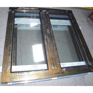 Electrophoresis Surface Treatment Brozne Colour Aluminium Profile Casement Window K03015 pictures & photos