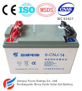 12V14ah Solar Wind Energy Storage AGM Solar Battery