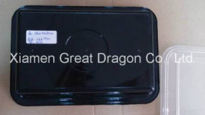 Plastic Microwave Rectangle Container (Lunch Box) (LB12012) pictures & photos