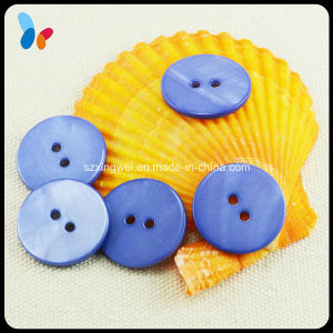 Freshwater River Blue Shell 2-Hole Button for Suit pictures & photos