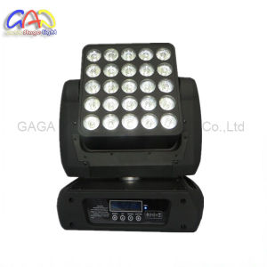 25X10W 4in1 CREE Matrix LED Moving Head Light pictures & photos