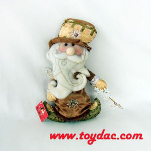 Stuffed Cloth Art Santas pictures & photos