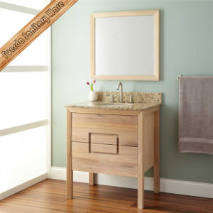 Wooden Color Bathroom Cabinet pictures & photos