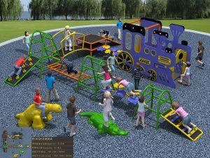 Kaiqi Climbing Series Children′s Adventure Playground Set (KQ50096) pictures & photos