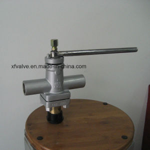 ANSI 800lb Forged Steel A105 Thread End NPT Plug Valve pictures & photos