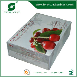 Customized Fresh Fruit Corrugated Boxes Cherry Paper Boxes (FP11033) pictures & photos