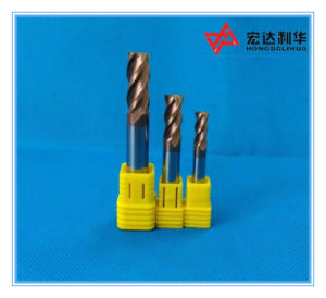 Solid Carbide 4 Flute Flattened End Mill for Milling Cutter pictures & photos