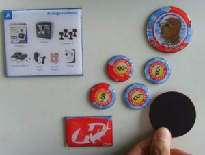 Custom PVC Magnet Fridge Magnet Sticker pictures & photos