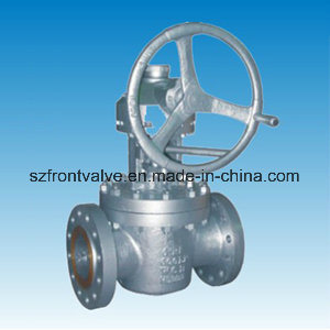 Cast Steel Flanged End Lubricated Taper Plug Valve pictures & photos