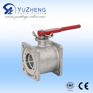 Flanged Single Body Ball Valve pictures & photos