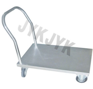 Stainless Steel Flat Plate Trolley in Hospital pictures & photos