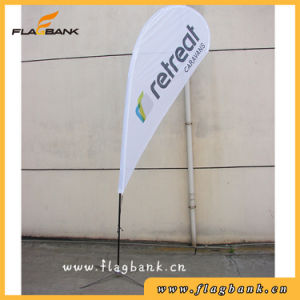 3.4m Advertising Fiberglass Digital Printing Flying Flag/Teardrop Flag pictures & photos