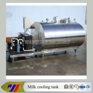 Horizontal Milk Cooling Storage Tank/ Fresh Milk Cooling Tank pictures & photos