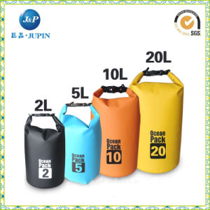 Promotional Outdoor Sports 10L Waterproof Barrel Backpack Dry Bag (JP-WB018) pictures & photos
