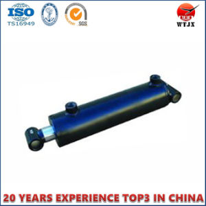 Welded Agricultural Machinery Telescopic Hydraulic Oil Cylinder pictures & photos