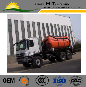 Model Customized Mercede-Benz 14cubic Meters Vacuum Sewage Suction Tanker Truck