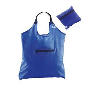 Eco-Friendly Custom Polyester/Nylon/Satin Fabric Foldable Shopping Bag