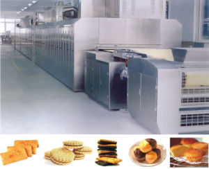 Biscuit and Cake Production Line Gas Tunnel Oven pictures & photos
