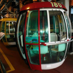 Polycarbonate Solid Sheet for Cable Car; Polycarbonate Cabinet pictures & photos