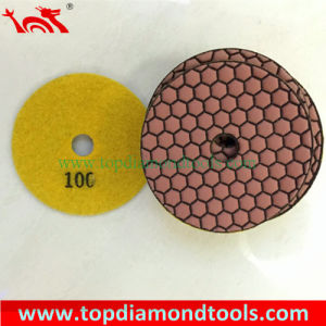 Angle Grinder Polishing Pads with 7 Step Dry Polishing Concrete pictures & photos
