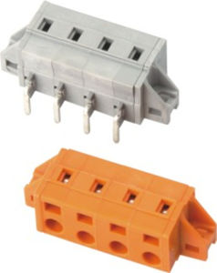 Mcs/PCB Terminal Block Connector with Fixing Flange (WJ0604/0704-04XX) pictures & photos