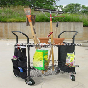 Practical Cleaning Trolley with Wheels pictures & photos