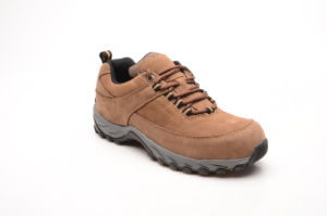 Hot Sell Brown Nubuck Leather & Suede Leather Safety Shoes (LZ5001) pictures & photos