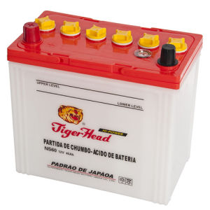 JIS 55b24-12V45ah Dry Charge Car Battery with RoHS/CE/Soncap pictures & photos