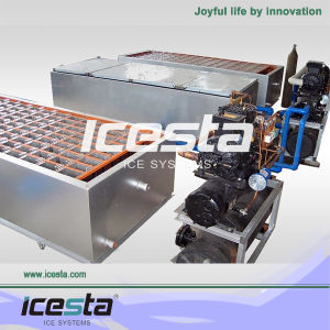 Icesta Easy Operating Block Ice Machine for Sale pictures & photos