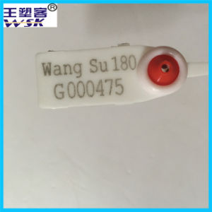Excellent PP Material Metal Injection Plastic Security Seal pictures & photos