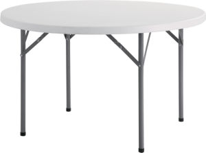 4FT Plastic Round Dining Table (YCZ-115R) pictures & photos