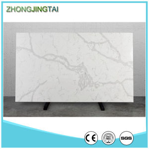 Carrara White Quartz Stone, Artificial Quartz Stone Tiles pictures & photos